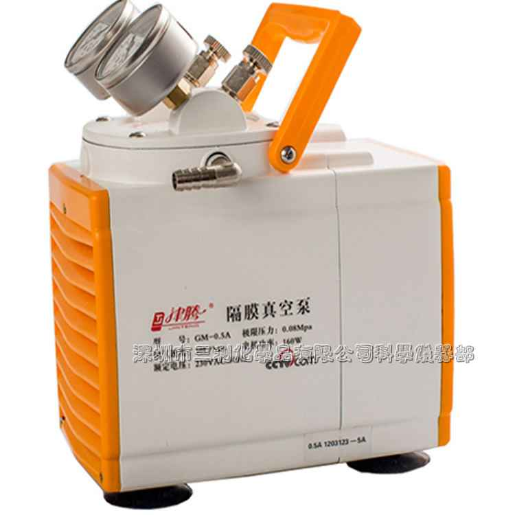 GM-0.5A防腐隔膜真空泵